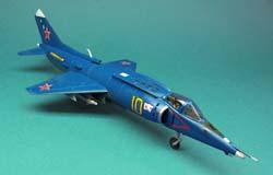 Палубный штурмовик Як-38 >>> Открыть в новом окне